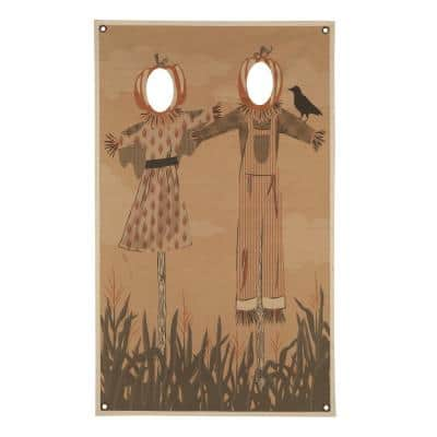 72.75 in. Scarecrow Photo Banner