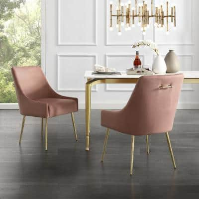 Pink Dining Chairs Kitchen Dining Room Furniture The Home Depot