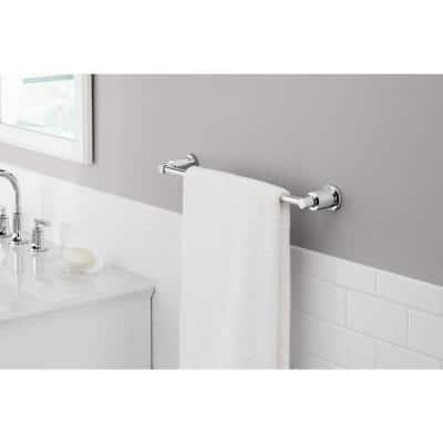 Sebring 18 in. Towel Bar in Polished Chrome