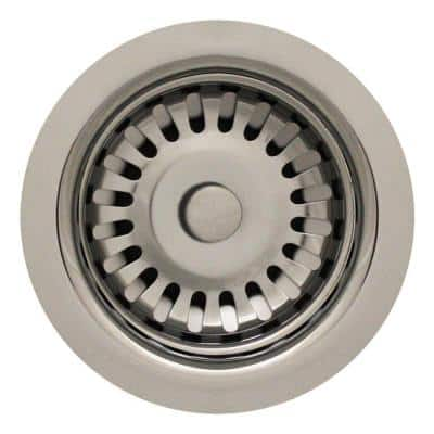 3.5 in. Basket Strainer in. Polished Chrome