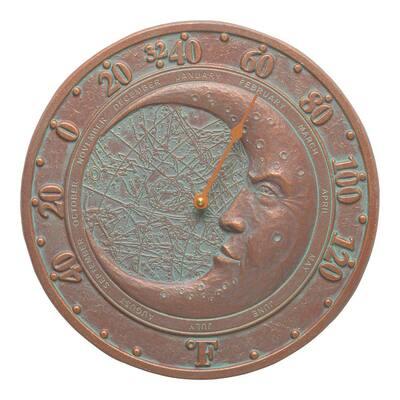 Verdigris Moon Thermometer