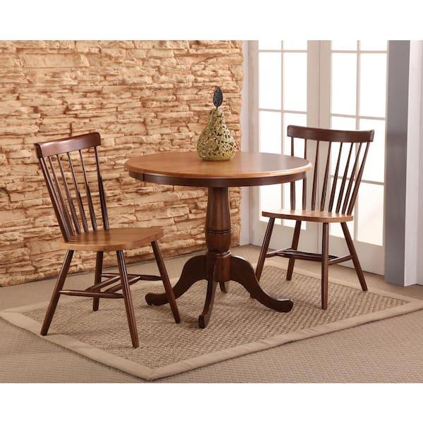 International Concepts - Cinnamon and Espresso Copenhagen Chair