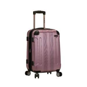 F1901 Expandable Sonic 20 in. Hardside Spinner Carry On Luggage, Pink