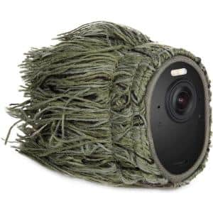 Camouflage Ghillie Skin for Arlo Ultra, Ultra 2, Pro 3 and Pro 4 - Conceal and Protect Your Arlo Camera (1-Pack)