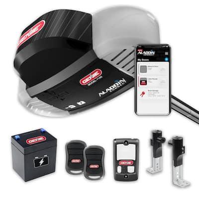 Signature Series 1 hp. Belt Drive Smart Garage Door Opener with Battery Backup