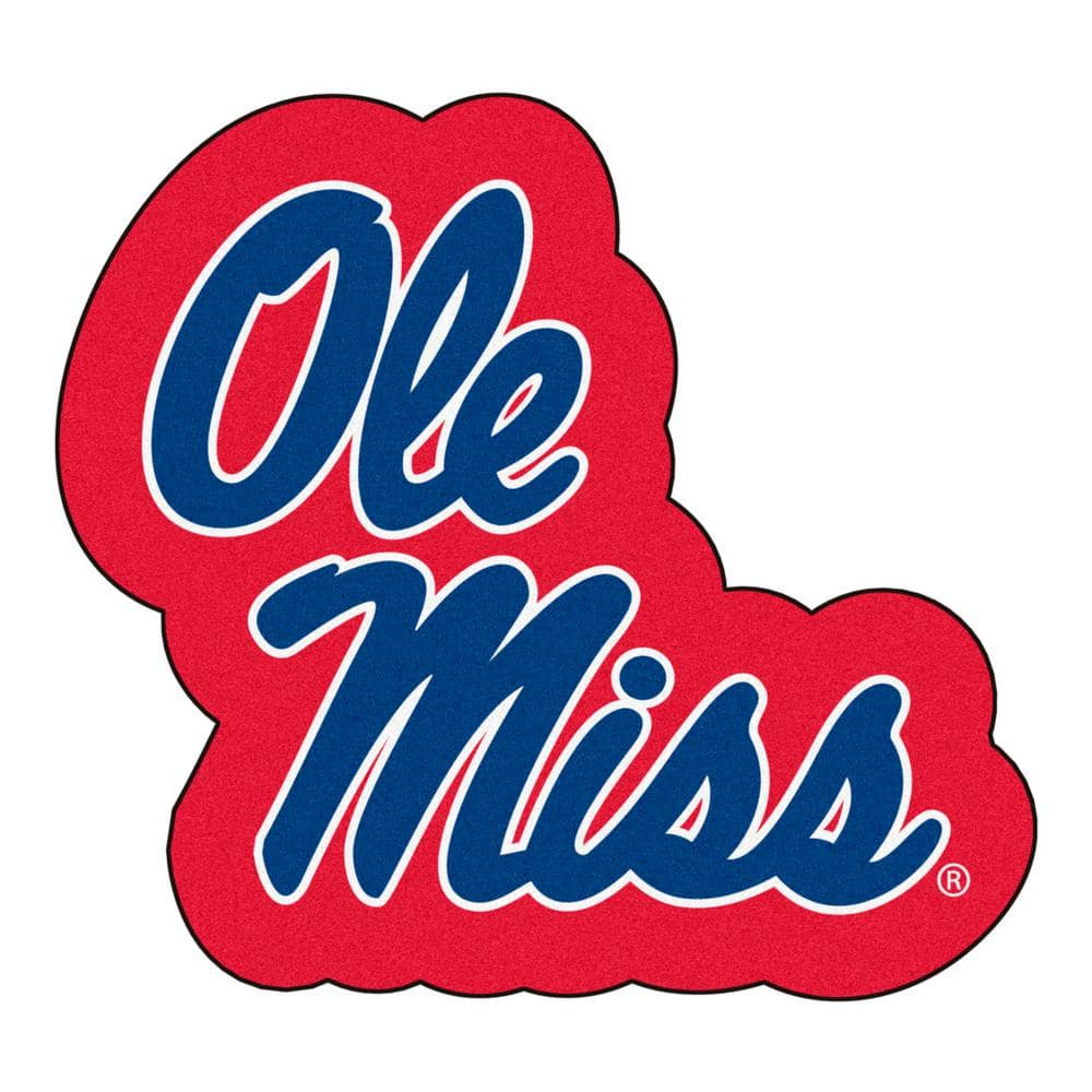 Chrome One Size Color Hitch FANMATS NCAA Mississippi Old Miss Rebels University of Mississippi Ole Miss Team Color