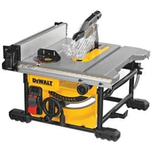 Deals on DEWALT 15 Amp Corded 8-1/4 in. Compact Jobsite Tablesaw