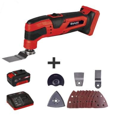 PXC 18-Volt 10 in. 20,000 OPM Cordless Oscillating Multi-Tool Kit (with 3.0 Ah Battery Plus Fast Charger)