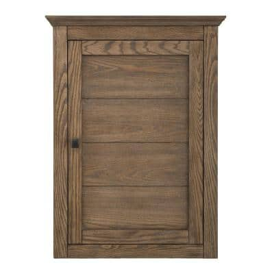 Stanhope 22 in. W x 30 in. H Wall Cabinet in Reclaimed Oak