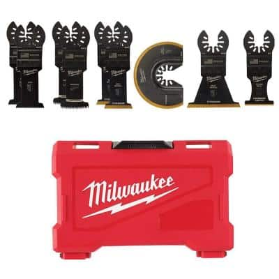 Oscillating Multi-Tool Blade Kit (9-Piece)