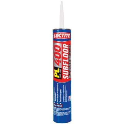 PL 400 28 fl. oz. All Weather Subfloor Construction Adhesive (12-Pack)