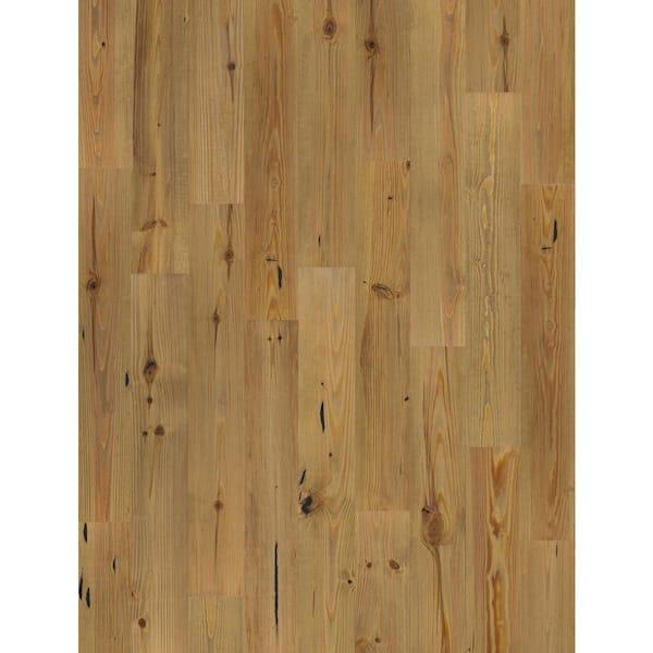 Beasley Wire Brushed New Heart Pine 1 2, White Brushed Pine Laminate Flooring