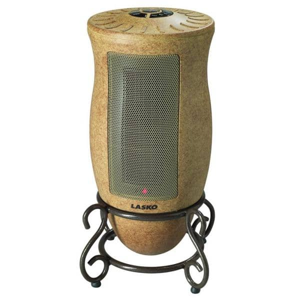 Mill 1500W Designer Electric Free Standing Thermostatic Square Fan Heater