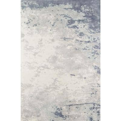 Illusions Blue 8 ft. x 11 ft. Indoor Area Rug