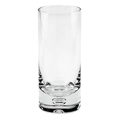 13 oz. Galaxy Mouth Blown Lead Free Crystal Hiball Glass (4-Piece Set)
