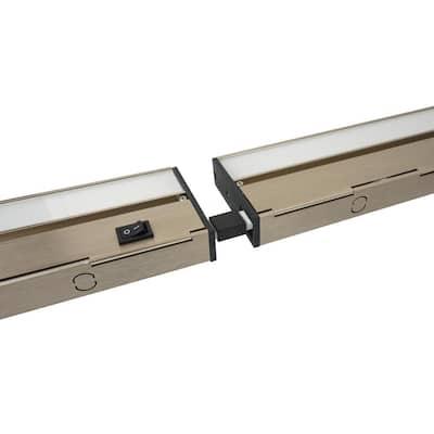 2 in. Connector for Linkable Undercabinet Lights, Black