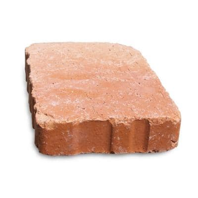Relic 9 in. x 6 in. x 1.63 in. Clay Saltillo Paver