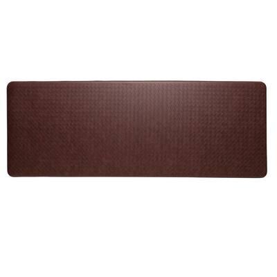 Nantucket Cinnamon 26 in. x 72 in. Anti-Fatigue Comfort Mat