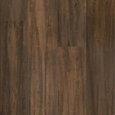 Treehouse 9/16 in. T x 5.31 in. W x 72.87 in. L W Click Bamboo Engineered Hardwood Flooring (21.50 sq. ft.)