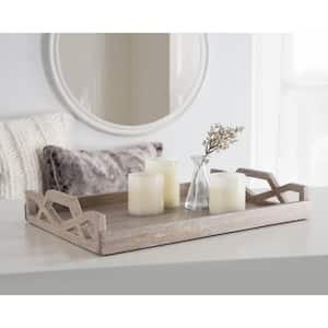 Grassley White Decorative Tray