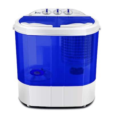 10.4 lbs. Blue Semi-Automatic Twin Tube Washing Machine