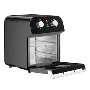 12.7 qt. Black Air Fryer with Rotisserie