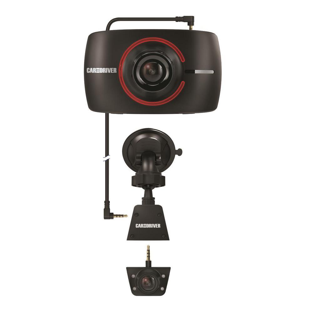 HD Road Patrol Touch Duo Dash Cam