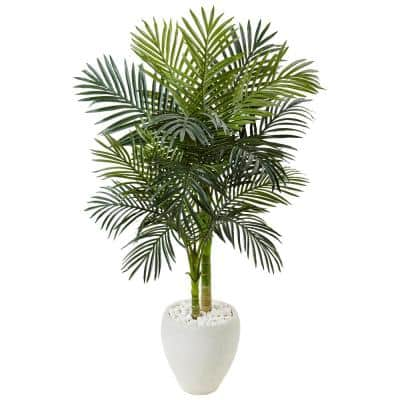 4 5 Artificial Trees Artificial Greenery The Home Depot