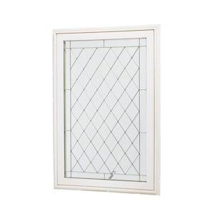 31.5 in. x 47.5 in. Awning Vinyl Window - White