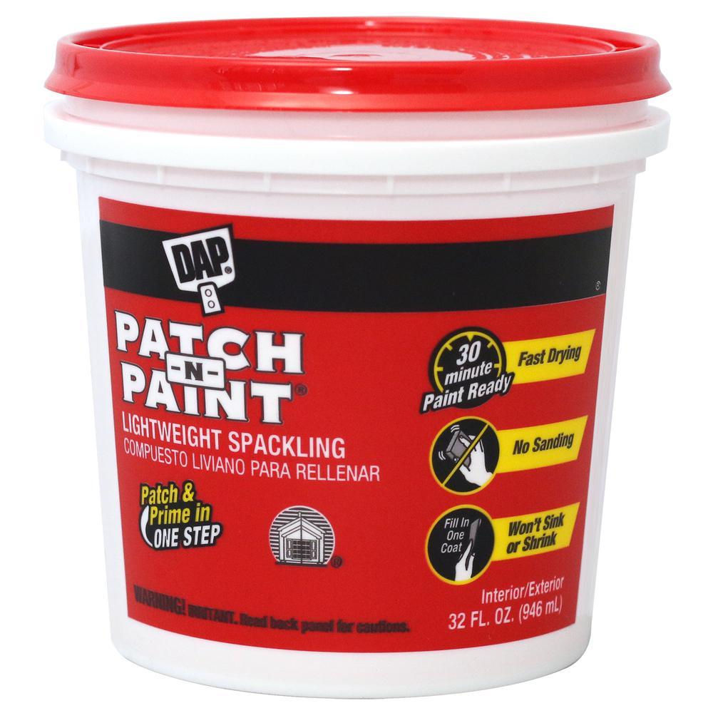 Patch-N-Paint 32 oz. Premium-Grade Lightweight Spackling