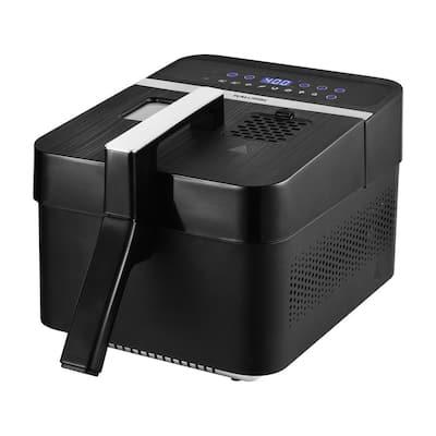 3.5 Qt. Black 2-in-1 Digital Deep and Air Fryer