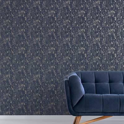 Milan Textured Plain Duck Egg Wallpaper Sample
