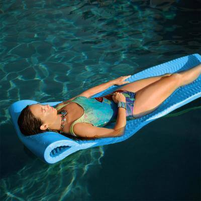 X-Large Foam Mattress Marina Blue Pool Float
