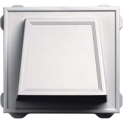 6 in. Hooded Siding Vent #117-Bright White