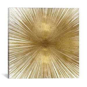 ''Radiant Gold'' by Abby Young Canvas Wall Art
