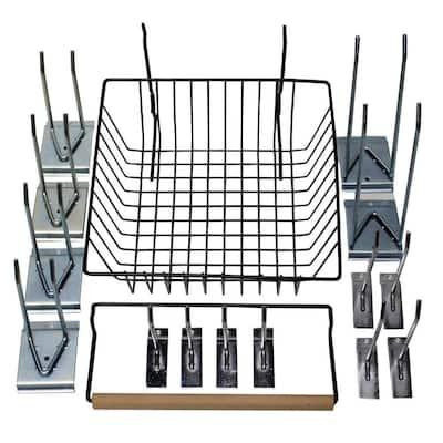 Easy Panel Slatwall Accessory Assortment (16-Piece per Box)