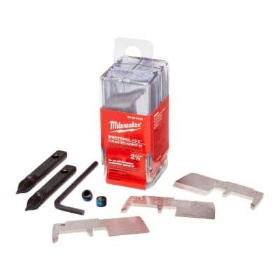 2-1/8 in. SWITCHBLADE High Speed Steel Blade Replacement Kit (10-Blades)