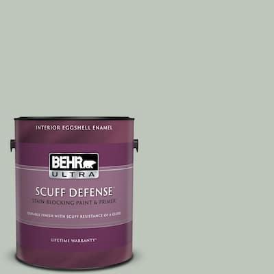 1 gal. #N410-3 Riverdale Extra Durable Eggshell Enamel Interior Paint & Primer