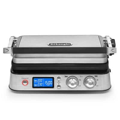Livenza All-Day 261 sq. in. Stainless Steel Indoor Grill