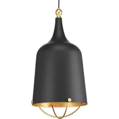 Era Collection 1-Light Black Pendant