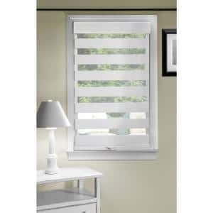 Celestial Linen Cordless Light Filtering Double Layered Polyester Roller Shade 39 in. W x 72 in. L