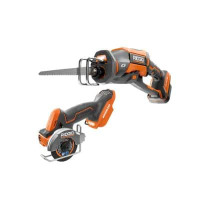 18V Brushless 2-Tool Combo Kit w/ SubCompact Multi-Material Saw & OCTANE Brushless One-Handed Recip Saw (Tools Only)