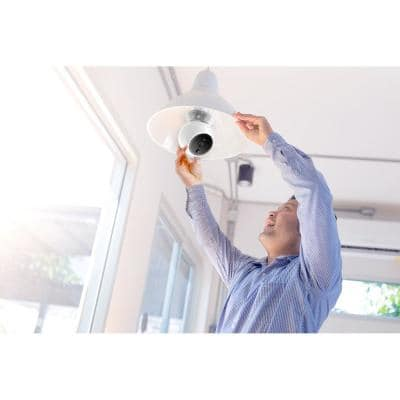 Zeus Wireless 1080P Indoor Auto PTZ Smart Security Camera Face Vehicle Pet Recognition, Fire Warning, Night Vision