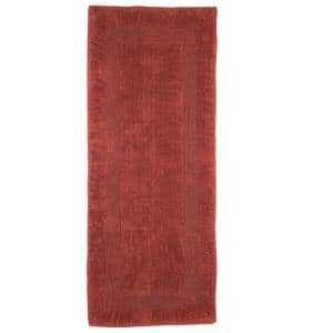 Brick 2 ft. x 5 ft. Cotton Reversible Extra Long Bath Rug Runner