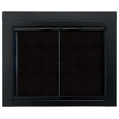 Alpine Small Glass Fireplace Doors