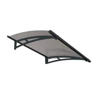 Aquila 1500 4 ft. 11 in. Solar Gray Door Canopy Awning