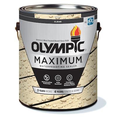 Maximum 1 Gal. Clear Exterior Waterproofing Sealant