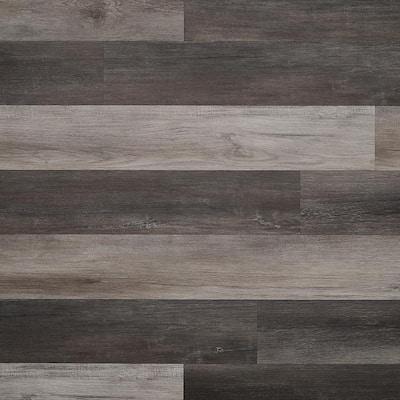 Revive 6mil 6.3 in. W x 48.4 in. L Scarlet Oak Studio Waterproof Glue Down Vinyl Tile Flooring (42.37 Sq. Ft. / Case)