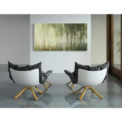 30 in x 60 in 'Resolutions' by Julia Purinton Fine Art Wrapped Canvas Print Wall Art