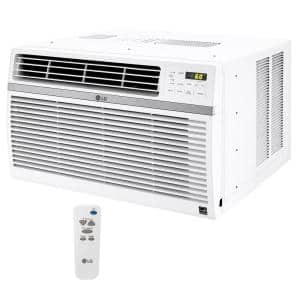 8,000 BTU 115-Volt Window Air Conditioner LW8016ER with ENERGY STAR and Remote in White